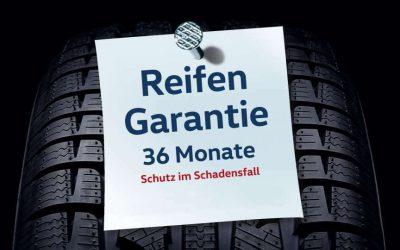 36 Monate voller Schutz mit unserer Reifengarantie!