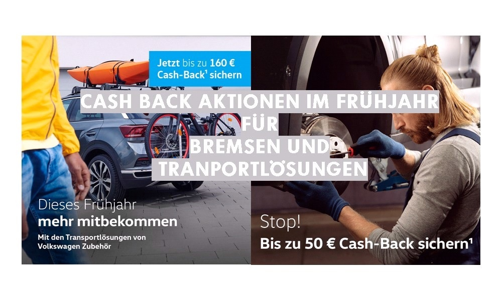 +++ CASH BACK AKTIONEN +++
